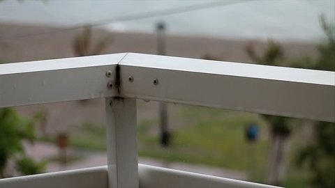 Rain on the rails