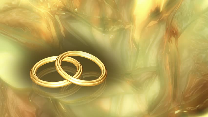 Abstract CGI Motion Graphics And Animated Background With Gold