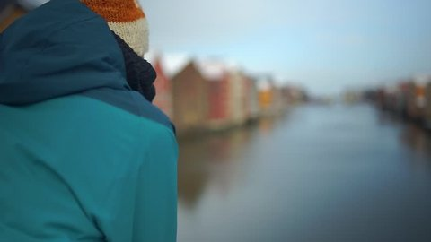 View over Trondheim From Gamle Brygge - Scandinavia