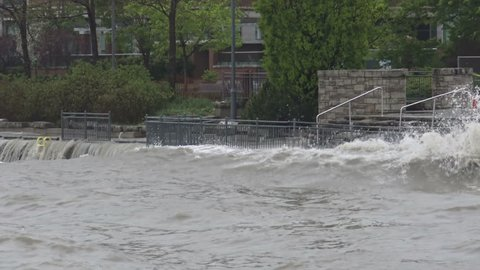Ontario - May: Rain and Stock Footage Video (100% Royalty