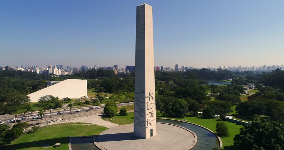 Aerial View of Ibirapuera in Sao Paulo, Brazil #27494680