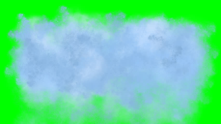 Wall of water and splashes on green screen 2. Falling water with great height and splashes on green screen