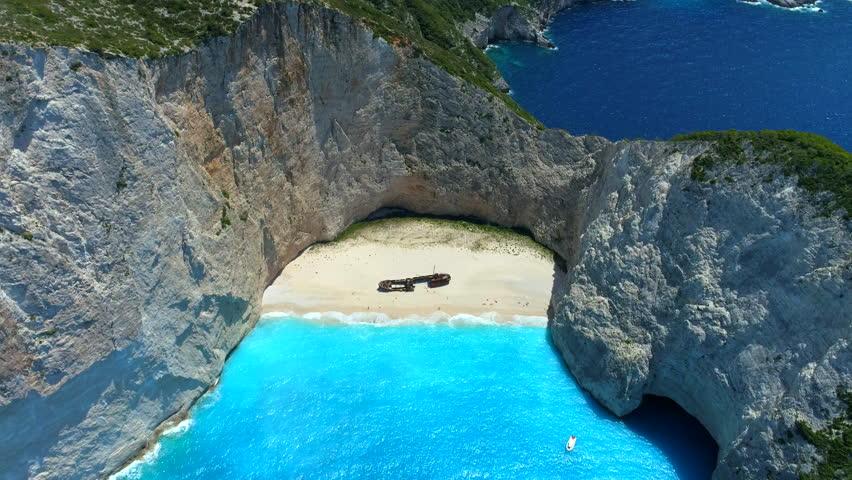 Navagio Beach / Shipwreck Beach - Zakynthos, Greece
