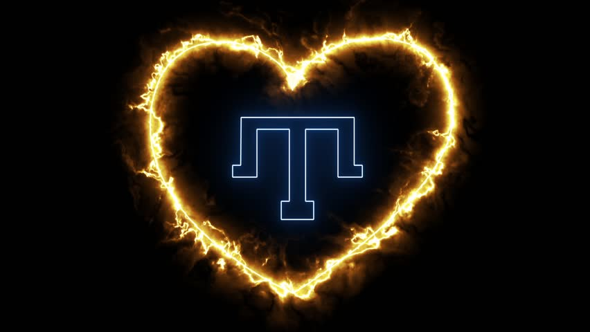Tatar sign with a beating heart
