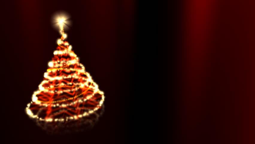 Glowing Christmas Tree - Christmas 14 (HD) - Animation With ...