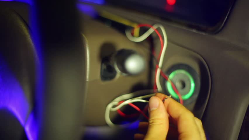 Admirable Hot Wiring A Car Stock Footage Video 100 Royalty Free 2771510 Wiring 101 Garnawise Assnl