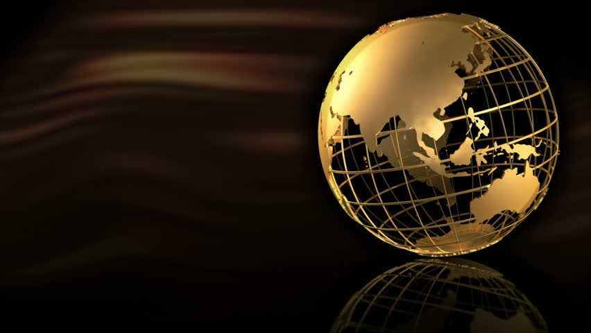 Gold Globe Spin