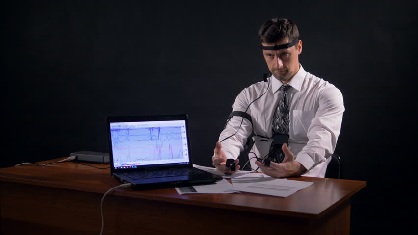 A Man Connected to Polygraph Stock Footage Video (100% Royalty-free)  27872590 | Shutterstock
