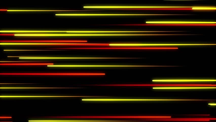 Metro Light Streaks Seamless Looping Motion Background Video Background Loop 4K Horizontal Yellow Orange Gold Golden | Shutterstock HD Video #27906670