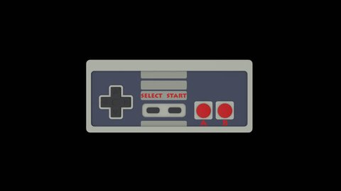Retro Gamepad Stock Video Footage - 4K and HD Video Clips | Shutterstock
