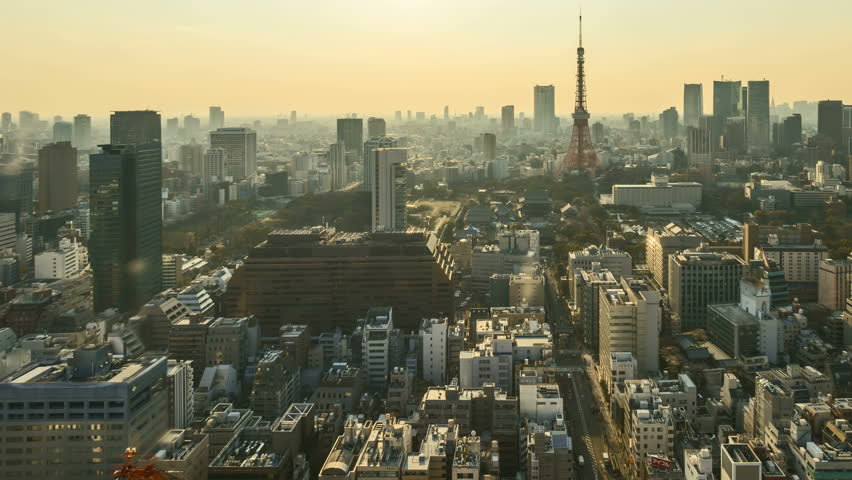 Modern Architecture Videos building in tokyo, japan. modern architecture. stock footage video