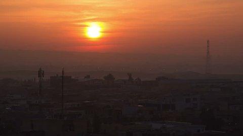 Sunrise in Erbil