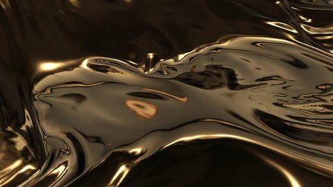 Animation of gold waves