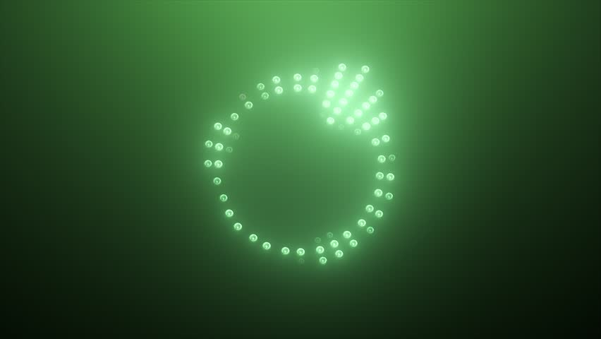 Green high-tech Led Equalizer
