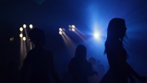 Dancing girls. Prom