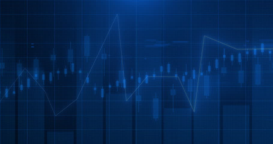 Animation Stock market financial analysis indicator background | Shutterstock HD Video #28544560