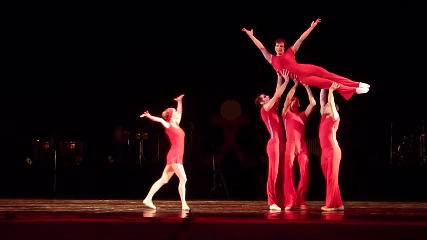 Girl Dancing Lap Dance, Beautiful Woman Doing Pole Dance -1289