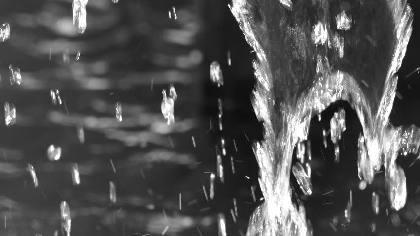 Black and white fountain | Shutterstock HD Video #28592140