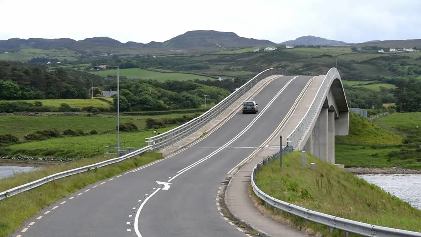 The Harry Blaney Bridge in Donegal, Ireland/ The Harry Blaney Bridge/ The Harry Blaney Bridge in amazing landscape location , Donegal - Ireland