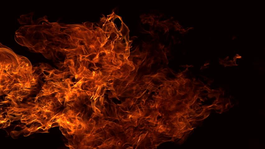 Fire ball explosion shooting with high speed camera, phantom flex. | Shutterstock HD Video #2864467
