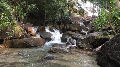 Ngao Waterfall National Park, Ngao, Mueang Ranong District, Ranong