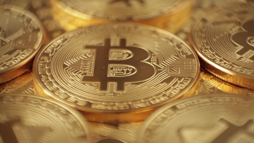 Bitcoin - Bit Coin Btc. Macro | Shutterstock HD Video #28809001