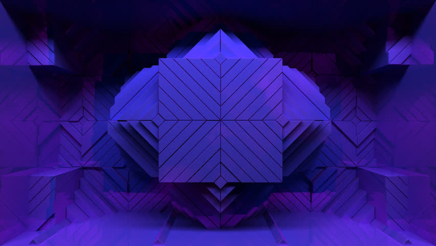 Displace2 is an impactful seamless pack of looping visuals, perfect for video projection mapping, nightclubs, large scale video events, and installations.