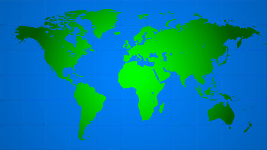 Physical world travel map with airplanes stock footage video intercontinental flights on the world map hd stock video clip sciox Gallery
