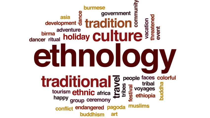 ethnology and ethnography