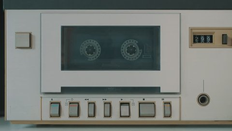 Cinemagraph Video Loop Tape Cassette Player Deck