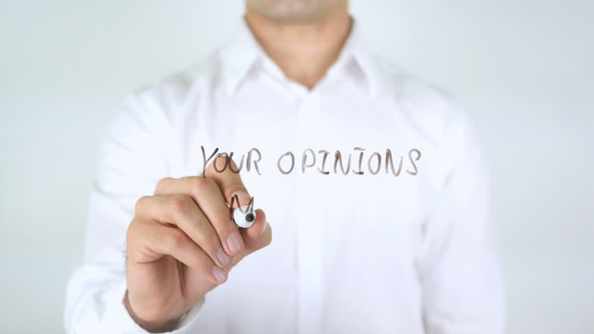 Your Opinion Matters, Man Writing on Glass   Shutterstock HD Video #29039110