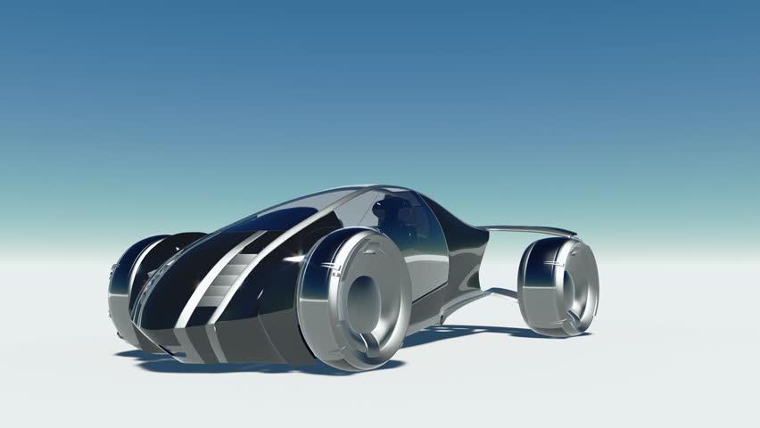 Concept car rotation with alpha