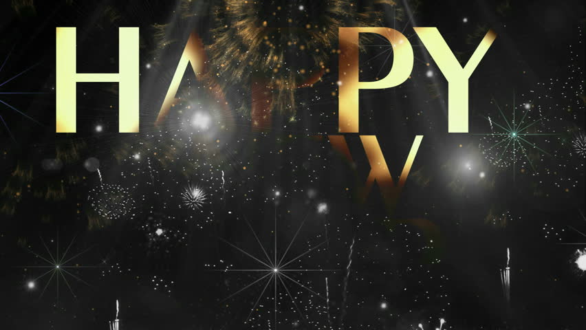 "Holiday Fireworks Happy new year text animation ( Series 4 - Version from 1 to 12 ) + "" Thing Different "" ++ "" You can find every week new Footage "" + + + "" Have a look at the other Footage series "" 