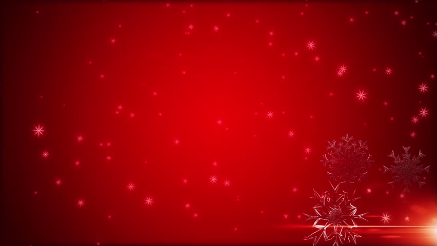 Snowflakes Are Falling Against A Video De Stock Totalmente Libre De