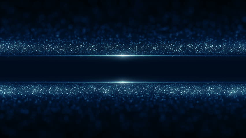 Particles blue dust abstract light motion titles cinematic background vj loop
