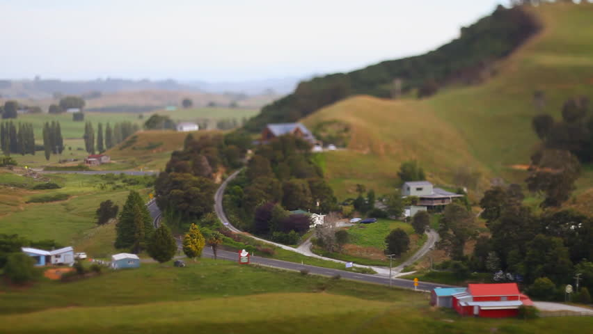 New Zealand Nature Tilt Shift Time Lapse 04 | Shutterstock HD Video #29177200
