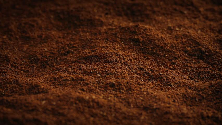 Ground Coffee Rotating