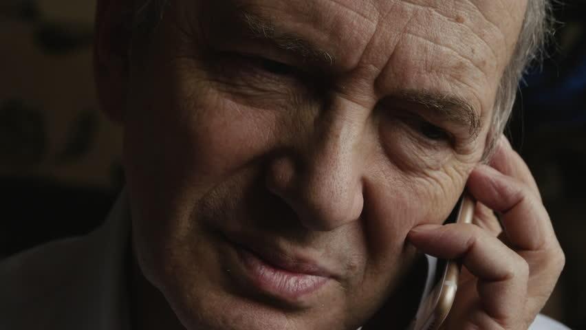Elderly Man Talking On The Mobile Phone #29267800