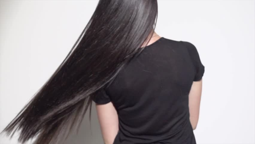 Video Stock De Beautiful Long Hair Beauty Woman 100 Livre De