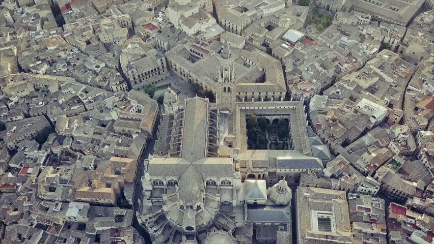 Ancient city Toledo in Castilla la Mancha