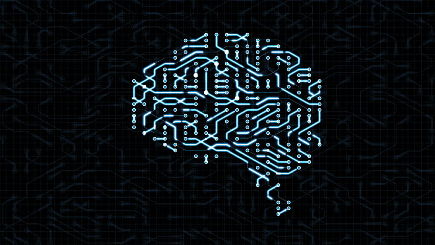 Seamless looping animation of a brain circuit board. 16-Bit. 4K UHD.  | Shutterstock HD Video #29492110