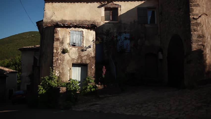French town, south of France