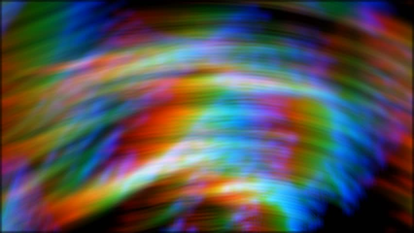 Rainbow Notes On Light Background Stock: Rainbow Prism Light Abstract Background Stock Footage
