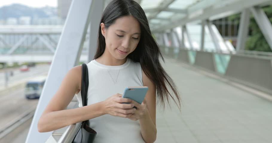 Woman use of mobile phone    Shutterstock HD Video #29630410