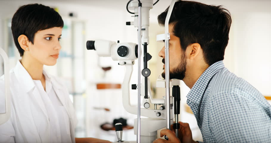 Ophthalmology Concept  Patient Eye Vision Stock Footage Video (100%  Royalty-free) 29634700 | Shutterstock
