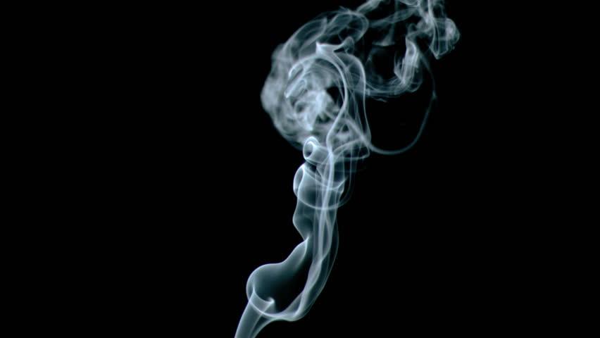 Animated smoke effect