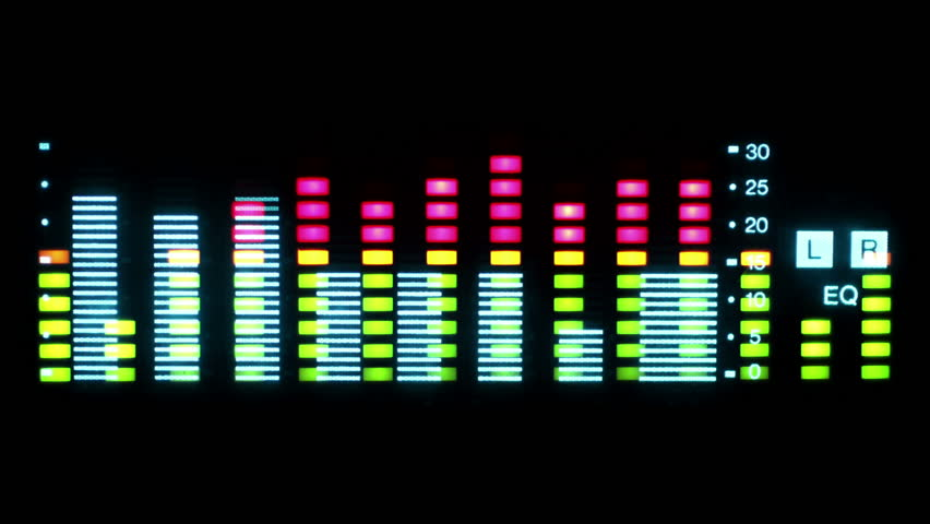 Music Graphic Equalisers and Audio Stock Footage Video (100% Royalty-free)  3010540 | Shutterstock