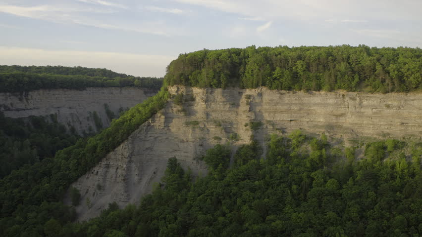Timelapse of sun setting in Letchworth State Park    Shutterstock HD Video #30144310