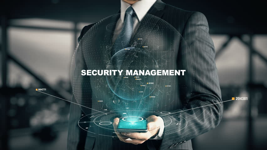 Businessman with Security Management