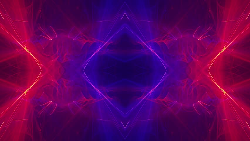 Futuristic Modern Dynamic Background with Flame Fractal Animation for Special and Visual effects applications and future technology design. Ultra fine symmetry structure and high resolution details.